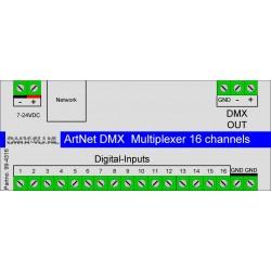 Artnet DMX Multiplexer 16