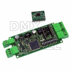 DMX Stappenmotor Controller