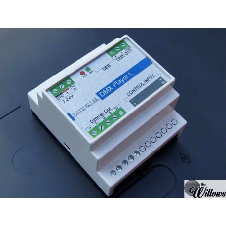 DMX DALI of DSI interface DinRail