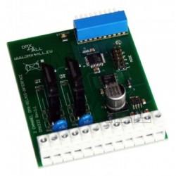 DMX Relais Interface 2 kanalen SSR