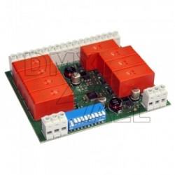 DMX Relais Interface 8 kanalen