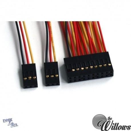 Kabelset voor mini-Demux8
